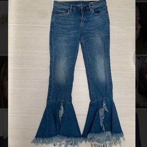 Blank NYC Flared Bottom Jeans
